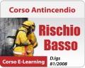 Corso Antincendio Rischio Basso - 5 ore