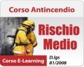 Corso Antincendio Rischio Medio - 8 ore